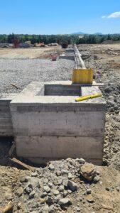 impianto di compostaggio in costruzione in località le fornaci viterbo