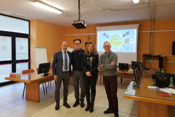 Foto del team di progetto a Montefiascone - Laudato si - Ecologia Viterbo