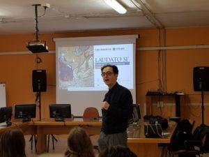 Canzoniero in classe a Montefiascone